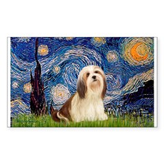 Starry / Lhasa Apso #4 Decal