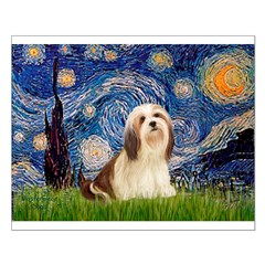 Starry / Lhasa Apso #4 Posters