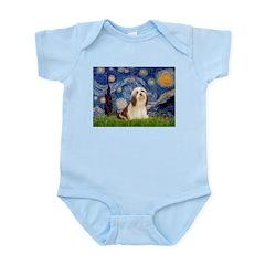 Starry / Lhasa Apso #4 Infant Bodysuit
