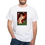 Angel / Lhasa Apso #4 White T-Shirt