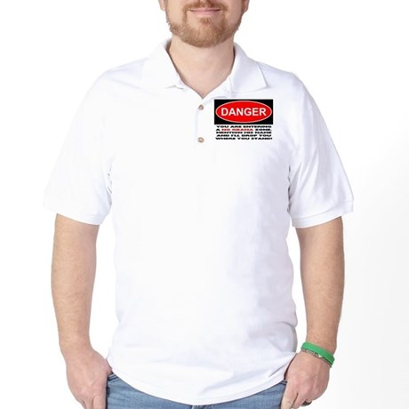 No Obama Zone Golf Shirt