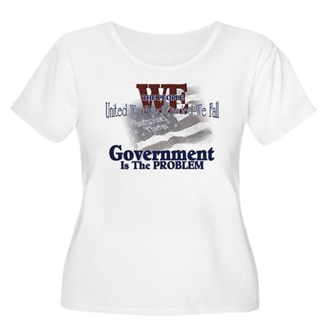 Government is the Problem Women's Plus Size Scoop