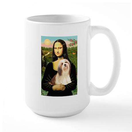 Mona / Lhasa Apso #4 Large Mug