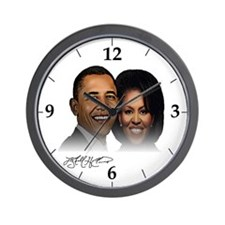 Cute 2008 election Wall Clock