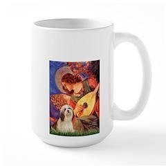 Mandolin / Lhasa Apso #4 Mug