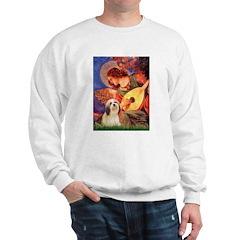 Mandolin / Lhasa Apso #4 Sweatshirt