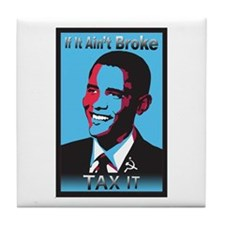 If It Ain't Broke Tile Coaster