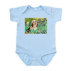 Irises / Lhasa Apso #4 Infant Bodysuit