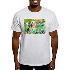 Irises / Lhasa Apso #4 T-Shirt