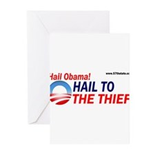 Hail to the thief! Greeting Cards (Pk of 20)