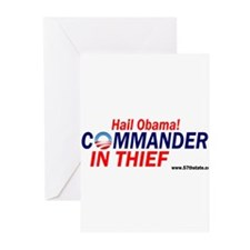 Commander in thief! Greeting Cards (Pk of 20)