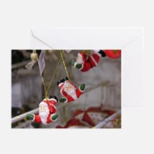 Flying Santas Greeting Cards (Pk of 10)