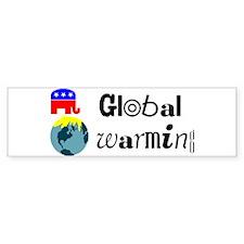 Global Warming Bumper Bumper Sticker