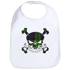 Abercrombie Tartan Skull Bib