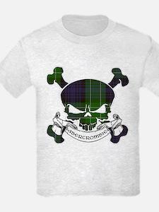 Abercrombie Tartan Skull T-Shirt