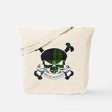Abercrombie Tartan Skull Tote Bag