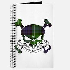 Abercrombie Tartan Skull Journal