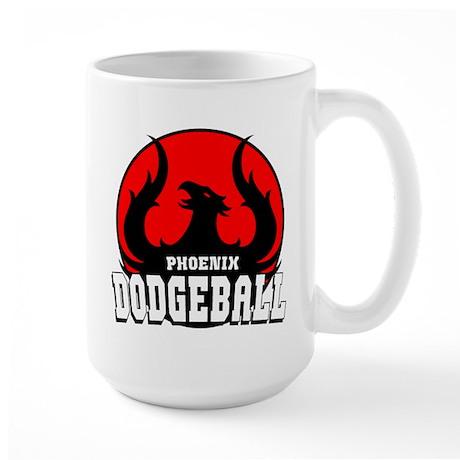 Phoenix Dodgeball Large Mug