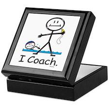Swimming Coach Keepsake Box