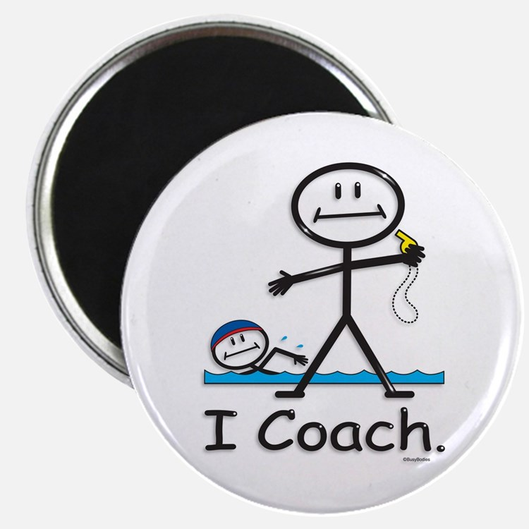 Swimming Coach Magnet