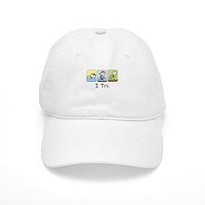 Triathlon Stick Figure Hat