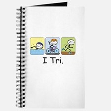 Triathlon Stick Figure Journal