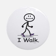 BusyBodies Walking Ornament (Round)