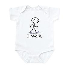 BusyBodies Walking Infant Bodysuit