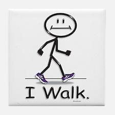 BusyBodies Walking Tile Coaster