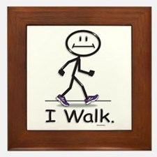 BusyBodies Walking Framed Tile