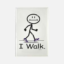 BusyBodies Walking Rectangle Magnet