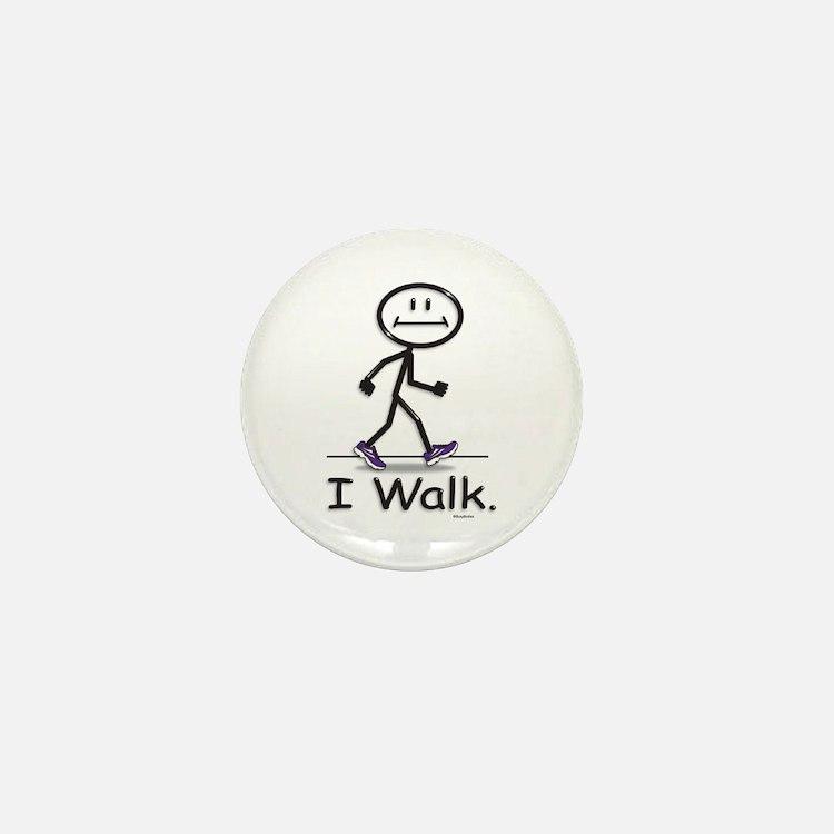 BusyBodies Walking Mini Button