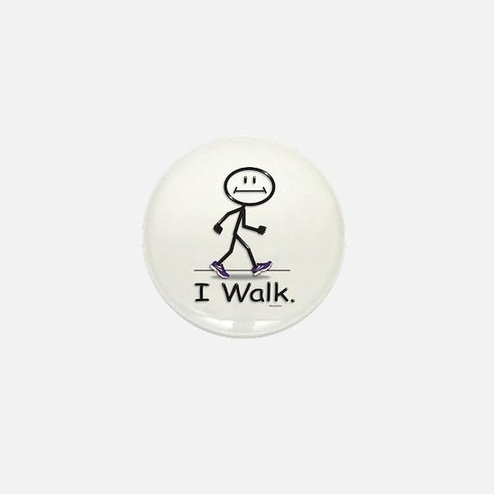 BusyBodies Walking Mini Button (10 pack)