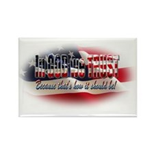 In GOD we TRUST Rectangle Magnet (10 pack)