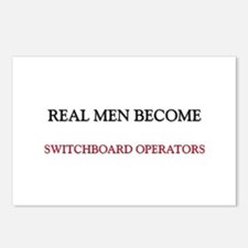 Real Men Become Switchboard Operators Postcards (P