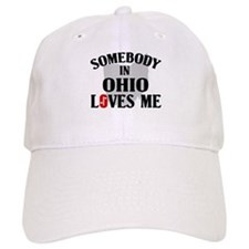 Somebody In Ohio Baseball Cap