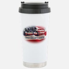 In GOD we TRUST Stainless Steel Travel Mug