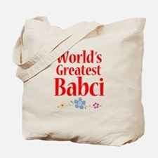 World's Greatest Babci Tote Bag