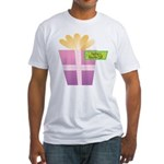 PapPap's Favorite Gift Fitted T-Shirt