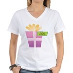 PapPap's Favorite Gift Women's V-Neck T-Shirt