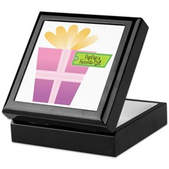 PapPap's Favorite Gift Keepsake Box