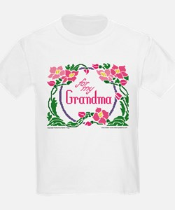 For My Grandma T-Shirt
