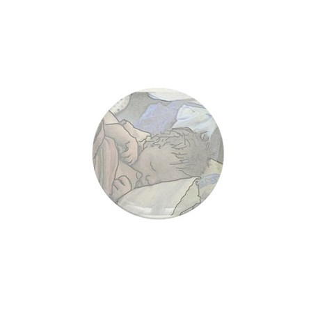 Hungry Mini Button (100 pack)
