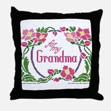 For My Grandma Throw Pillow