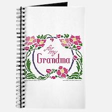 For My Grandma Journal