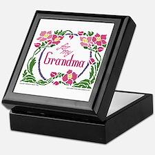 For My Grandma Keepsake Box