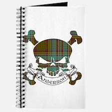 Anderson Tartan Skull Journal