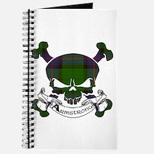 Armstrong Tartan Skull Journal