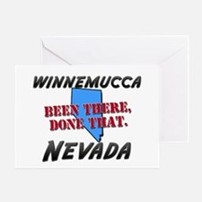 winnemucca nevada - been there, done that Greeting