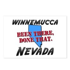 winnemucca nevada - been there, done that Postcard